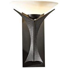 Hubbardton Forge Moreau Dark Smoke Wall Sconce