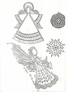 *КРУЖЕВО*: art and fashion Doily Art, Lace Art, Christmas Angels, Christmas Crafts, Bobbin Lacemaking, Crochet Angels, Bobbin Lace Patterns, Lace Jewelry, Needle Lace