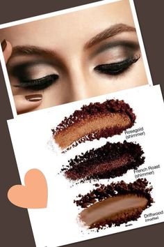 Get this look with Mary Kay Mineral Eye colors...Rosegold, French Roast, Driftwood.  Shop with me at http://www.marykay.com/courtneyharris93521