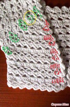 Patron para tejer un bolero para niña a crochet03