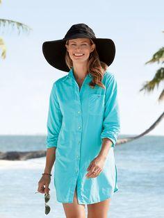 254e498894f Women's Paradise Big Shirt - Solumbra: All Day 100+ SPF Sun Protective  Clothing - Style# 17850