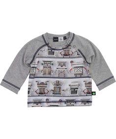 Molo schattige baby t-shirt met robots. molo.nl.emilea.be