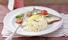 Reis und Fisch sind prädestiniert fürs Dämpfen