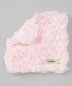 Look what I found on #zulily! 5'' x 5'' Luxe Pink Snail Plush Crinkleez Lovey by My Blankee #zulilyfinds