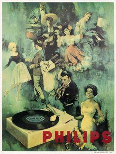 Philips by Artist Unknown | Shop original vintage #posters online: www.internationalposter.com
