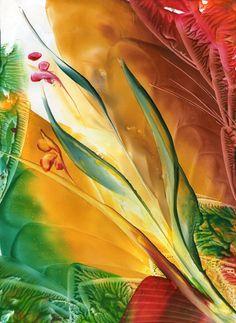 enkaustika obrázky - Hledat Googlem Wax Art, Encaustic Painting, Acrylic Pouring, Art Fair, Street Art, Flowers, Crafts, Mixed Media, Hobbies