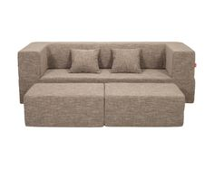 Biscuit Modular Sofa / Colour: Cinnamon #modular #sofa #sofabed #cool #comfort #creative #foam #colourful #young