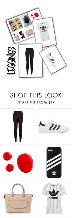 """Untitled #57"" by mcnsh21 ❤ liked on Polyvore featuring adidas Originals, Ilia, adidas, Urban Expressions, Topshop, Leggings and WardrobeStaples"