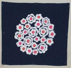 "Broderi / Embroidery ""Tusenskönor"" design Birgitta Werner-Johansson, 1969"