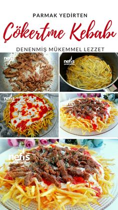 How to Make Nefis Cokertme Kebab Recipe?- How to Make Nefis Cokertme Kebab Recipe? people have e …-Wie Nefis Cokertme Kebab Rezept machen? Leute haben ein Buch … How to Make Nefis Cokertme Kebab Recipe? people have a book … - # Kebab Recipes, Lunch Recipes, Cooking Recipes, Yummy Recipes, Turkish Recipes, Ethnic Recipes, Iftar, Easy Meals, Food And Drink
