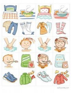 Fantastic clip art. This is perfect for E's daily chart. More