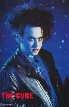 The Cure Robert Smith Rare Poster by VintagePosterPlace on Etsy