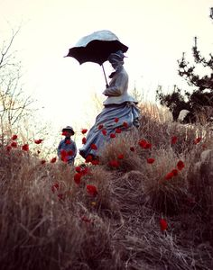 On Poppied Hill Photography Statue Collection Grounds for