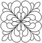Click on the design to go to Patsy Thompson Designs Shop to see more quilting stencil designs for sale.