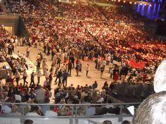 Tłumy w Ergo Arenie