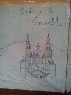 A nosa réplica da Catedral de Santiago.