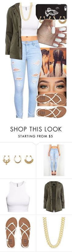 """""""Untitled #720"""" by foreverkaylah ❤ liked on Polyvore featuring Charlotte Russe, LORAC, H&M, Dorothy Perkins, Billabong and R.J. Graziano"""