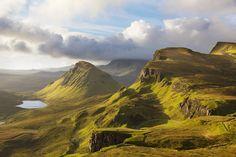 "pagewoman: ""  Quiraing, Meall na Suiramach, Trotternish Ridge, Isle of Skye, Scotland by Michael Kirste """