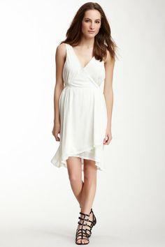 Ainsley Silk Wrap Dress on HauteLook