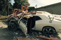 The thought of a time-traveling car might be the stuff of legend, or at least 1985's Back to the Future. But for two Florida business owners, it's no tall tale. On December 20th, a driver in Pensacola careened a Dodge Challenger muscle car into two local businesses—Advanced Tax Services and Pensacola