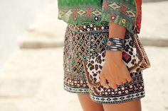 Zara shorts @ L I Z Z Y V A N D E R L I G T