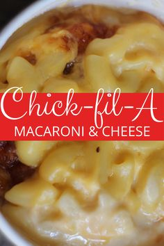 See how to make your own Copycat Chick fil A Mac and Cheese recipe! If you love 5 cheese macaroni and cheese recipes, then you'll love this one no doubt! #chickfila #copycatrecipes #macandcheese #macaroniandcheese Best Mac N Cheese Recipe, Best Mac And Cheese, Mac Cheese Recipes, Macaroni N Cheese Recipe, Easy Recipe For Mac And Cheese, Best Macaroni Recipe, Pasta Dishes, Food Dishes, Side Dishes