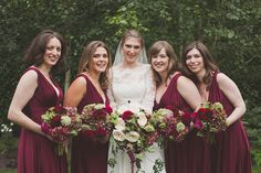 Love the deep red tones! Antiques and Vintage Collector Finds for an Enchanted Elegance and Autumn Feast Inspired Wedding | Love My Dress® UK Wedding Blog