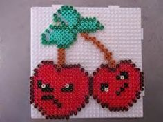 cherry-bomb plants vs. zombies perler - Bing Images