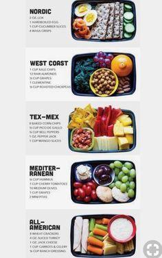 Tex Mex & Mittelmeer is part of Lunch meal prep - Lunch Meal Prep, Healthy Meal Prep, Healthy Snacks, Healthy Eating, Healthy Recipes, Healthy Lunch Ideas, Clean Eating, Lunch Snacks, Lunch Recipes