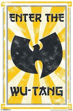 Arte Do Hip Hop, Hip Hop Art, Wutang, Wu Tang Tattoo, Wu Tang Clan Logo, Arte Cyberpunk, Black Artwork, Sale Poster, Iphone Wallpaper