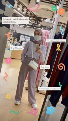 Modern Hijab Fashion, Street Hijab Fashion, Hijab Fashion Inspiration, Muslim Fashion, Look Fashion, Casual Hijab Outfit, Hijab Chic, Casual Outfits, Top Mango