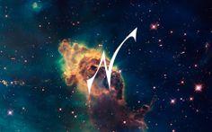 "my new ""galaxy"" logo"