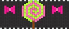 Lollipop Nd Bows  Kandi Pattern