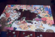 We can finish putting the puzzle, if we put our hearts and minds to it. Yes we can!