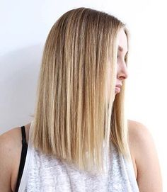 #HairDictionary: Do you know the difference between a blunt cut and a fringe? If you want a lob or bangs cut straight without layers, ask your stylist for a blunt cut!
