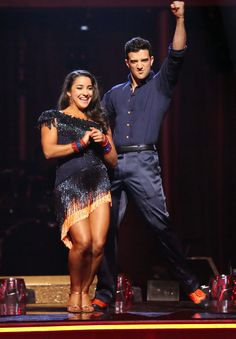 Mark Ballas & Aly Raisman  -  Dancing With the Stars  -  season 16  -  spring 2013  -  placed 4th for the season