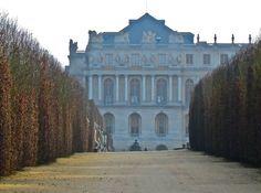Chateau de Versailles, aile nord.