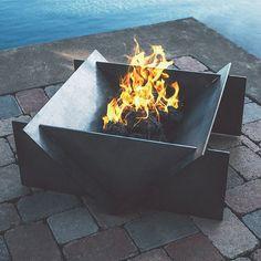 Stahl Large Firepit #Ambient, #Firepit, #Outdoor