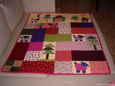 Tutorial colcha bebé patchwork - Imagui