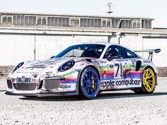 Auto für IT-Nerds: Porsche 911 GT3 RS in ultimativer Apple-Retro-Folierung ...repinned für Gewinner!  - jetzt gratis Erfolgsratgeber sichern www.ratsucher.de