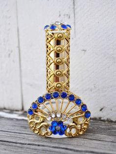 VINTAGE PERFUME BOTTLE Czech