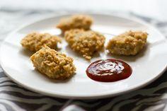 Oven Baked Grain-Free Gluten-Free Chicken Nuggets