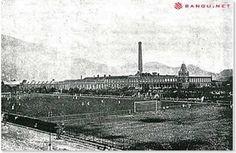 Estádio Moça Bonita A 15 de novembro de 1947 é inaugurado o novo campo do Bangu Athletic Club, Estádio Proletário Guilherme da Silveira (Moça Bonita), construído pela Fábrica.