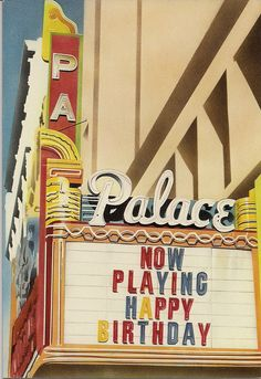 Marquee by Kathy Staico 1979 Paper Moon Graphics