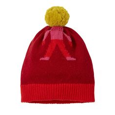 Bobble Head Hat – Red Pink