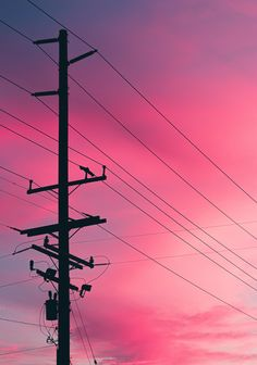 ITAP of a utility pole at sunset Aesthetic Backgrounds, Aesthetic Wallpapers, Landscape Photography, Nature Photography, Pastel Sky, Watercolor Landscape, Watercolor Flowers, Watercolor Art, Sky Painting