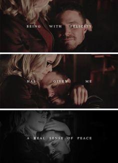 Arrow - Oliver & Felicity #Olicity #4.8