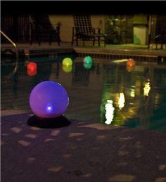 Chameleon Solar Light Globe For The Pool