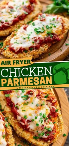 The best air fryer recipe to make for dinner! This easy chicken parmesan recipe is a healthy dinner with a juicy chicken and crispy parmesan coating. Plus, you only need a few simple ingredients and…