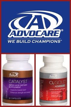 Enhance your workout... Catalyst helps the body maintain muscle mass during times of weight loss. O2 gold promotes the body's use of oxygen to help you go stronger, longer. www.advocare.com/120716091